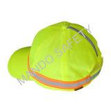 Protezione del casco di Taslon del poliestere con riflettente