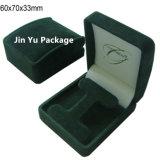Коробка упаковки ювелирных изделий двойных кец с изготовленный на заказ логосом