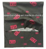 Продукция OEM фабрики подгоняла напечатанную конструкцией грелку пробки шеи Microfiber безшовную черную