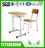 Escola moderna mobília única mesa e cadeira conjuntos (SF19S)