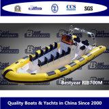Bestyear Rib700mのボート