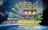 Cartões de visita lenticulares de design novo 3D