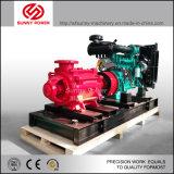 De diesel Pomp van het Water voor Brandbestrijding met het Kabinet van de Controle van de Automatisering