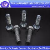 Parafusos sextavados do ISO 4014 do aço de carbono (RUÍDO 933 /931)