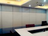 사무실, 회의실, 회의 홀 및 훈련 룸을%s 방음 미끄러지는 칸막이벽