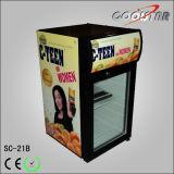 Heiße Verkaufs-Bildschirmanzeige-Getränkekühlvorrichtung mit hellem Kasten (SC-21B)