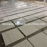 Chinesischer natürlicher Stein-reiner weißer Poliermarmor für Fußboden/Bodenbelag