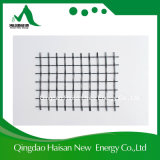 Anticorrosión Trabajos de carretera Materiales de construcción 25 kN / M fibra de vidrio geomalla