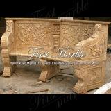 庭の家具Mbt502のための旧式なTravertineの椅子