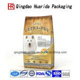 Il di alluminio di alta qualità di plastica si leva in piedi in su il sacchetto dell'alimento per animali domestici