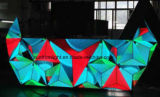 P5大きい夜エルフの正面LED DJブース