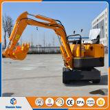 中国0.8トンの小型掘削機の販売のための小さいクローラー掘削機800kgの坑夫