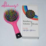 Pistola de cabelo de escova de cabelo de plástico colorada com espelho