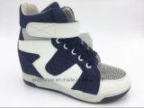 Теплой впрыснутые зимой спрятанные женщинами ботинки пятки (ET-XK160239W)