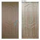 Prateleira de porta compensada moldada / Laminada competitiva com folheado de madeira natural ou engenharia