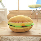 Almohadilla rellena del sofá de la hamburguesa de la historieta