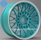 Сплав японии алюминиевый снабжает ободком колеса лучей