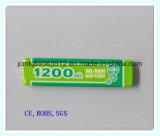 Ni-MH-batterij F6-1,2 V 1200 mAh voor draagbare DVD, draadloze telefoon, draadloze telefoon, elektrisch speelgoed, batterij, Alarmsysteem, oplaadbare batterij