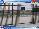 Порошковое покрытие черного цвета безопасности дворовые металлические стали акции ограждения (SF-033)