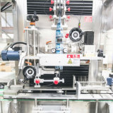 Garrafa de água mineral automática máquina de etiquetas com preço de fábrica