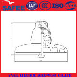Isolador de vidro da suspensão padrão do IEC U240 de China - isolador do Pin de China, isolador elétrico