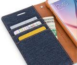 Cuero de lujo caja de la carpeta del teléfono para el iPhone 6 / 6s / 6 Plus