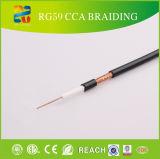 Série 75 ohm Rg o cabo coaxial RG-59