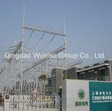 Subestación eléctrica de estructura de acero marco de acero