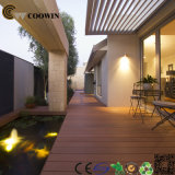 Decking composto de 150X25mmoutdoor WPC com o certificado do CE ASTM