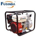 O motor de gasolina pôr a bomba de água centrífuga de 3 polegadas para a irrigação da exploração agrícola