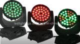 1 LEDの移動ヘッド洗浄段階LEDの洗浄照明に付き1 5に付き36pcsx10W RGBW 4