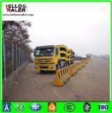 半中国60t油圧頑丈な三車軸低いベッドのトレーラー