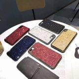 Pó de estrela brilhante elegante Design Reluzia Caso Telefone TPU para iPhone Xs Xr Xs Max e modelos de iPhone anterior