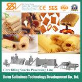 La transformation des aliments de collation de remplissage de base ligne/ligne de traitement de collation de remplissage de base