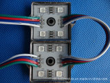 Пиксел 5050 делая модуль водостотьким 12V RGB SMD СИД
