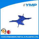 OEM de óxido de lámina metálica azul CNC mecanizado de piezas de fabricación