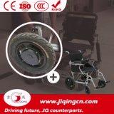 Fauteuil roulant électrique pilotant de haute résistance de la distance 17km-34km avec du ce