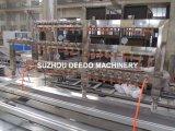 Frame de porta do PVC que faz a máquina