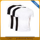 卸し売り人は袖のスコップの首の形態上のTシャツをショートさせる