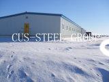 Magazzino d'acciaio chiaro prefabbricato/costruzione d'acciaio Pre-Costruita