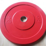 Piatto Bumper olimpico solido di sollevamento di peso del corpo