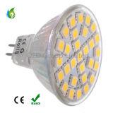 O ponto do diodo emissor de luz de E14 E27 MR16 B22 GU10 5W ilumina os bulbos de vidro do diodo emissor de luz do plástico das microplaquetas 5050SMD do diodo emissor de luz 29PCS