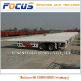 De Cimc 12m de longueur de camion remorque à plat semi pour le transport en bloc de la colle