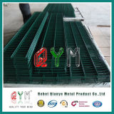 Hot-DIP電流を通された装飾用の二重ループ溶接された網の塀