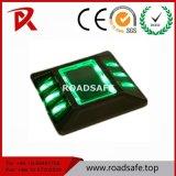 Parafuso prisioneiro de alumínio solar reflexivo da estrada do marcador do pavimento de estrada dos olhos de gato da segurança de estrada