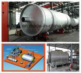 usine en plastique du raffinage 10ton obtenant le carburant diesel