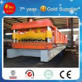 China máquina de rodillos de metal en frío, azulejos de la línea de producción