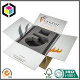 Schaumgummi-Schoner-starker Wellpappen-Papierverpackenkasten