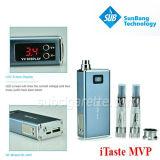 E-Sigaretta variabile di tensione del nuovo prodotto 2013, sigaretta elettronica, MVP di Itaste di E-Cig
