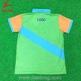 染料のワイシャツはポロのスポーツの摩耗を昇華させた